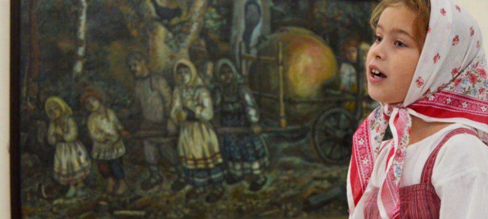 Выставочный проект «Светлый дар» Ефима Честнякова
