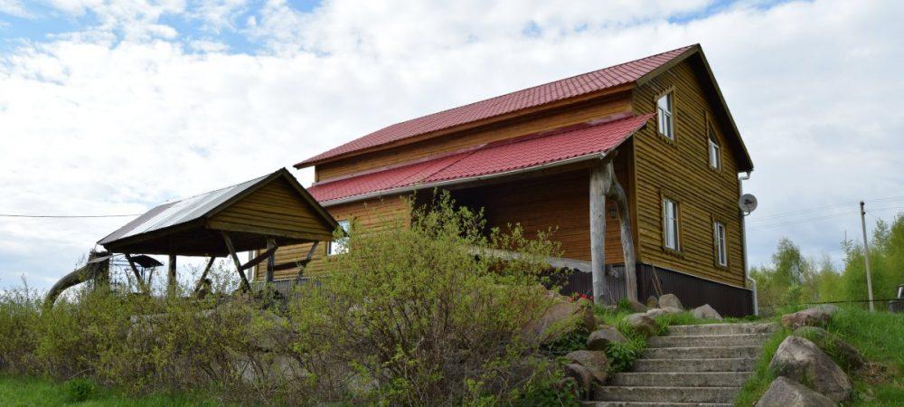 Охотничья база в Харино